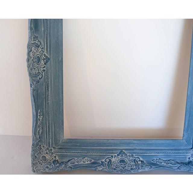 Blue Vintage Picture Frames - A Pair - Image 5 of 9