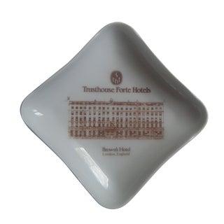Vintage London Hotel Porcelain Trinket or Ash Tray