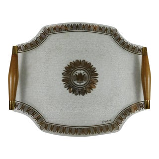 Georges Briard Crown Platter