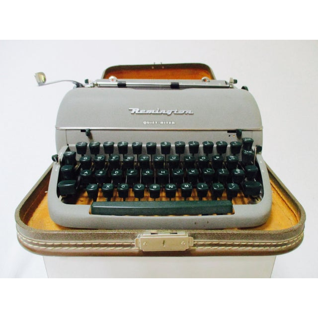 Vintage Remington Typewriter With Case - Image 3 of 9