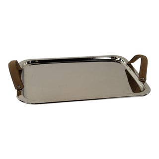 Polished Silver Serving Tray