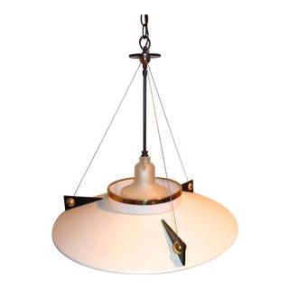 Modernist Space Age Stilnovo Style Pendant Light