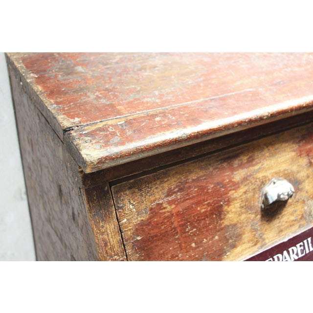 19th-C. French Flour Bin - Image 8 of 8