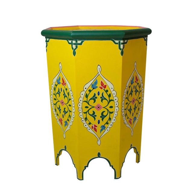 Safi Artisan Side Table - Image 1 of 3