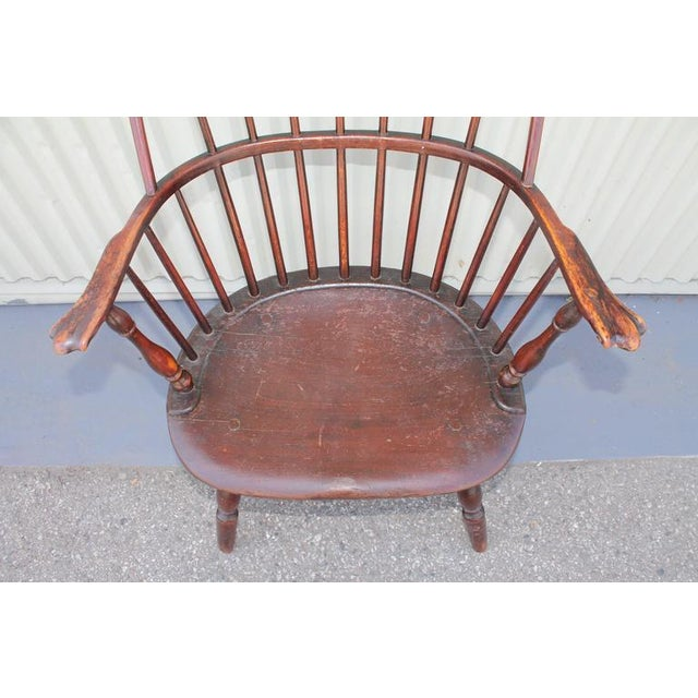 18th Century Sack Back Windsor Armchair - Image 5 of 5