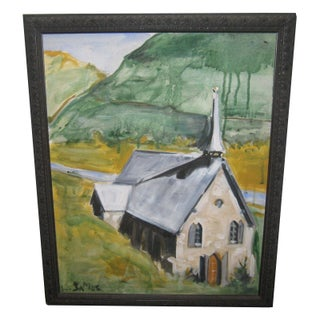 Mountain Church by Katherine James
