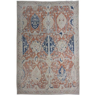 Hand Knotted Malayer Rug - 8′7″ × 10′3″