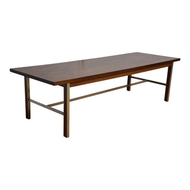 Paul McCobb for Calvin Walnut Coffee Table - Image 1 of 8