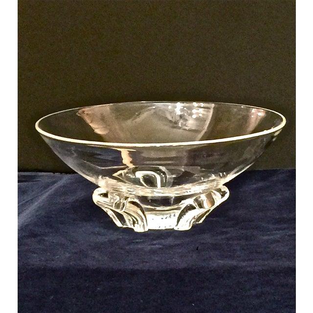 Image of Steuben Art Glass Bowl C. 1950's