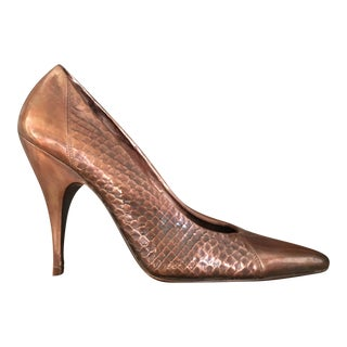 Bronze 'Perfecto' Stiletto Sculpture