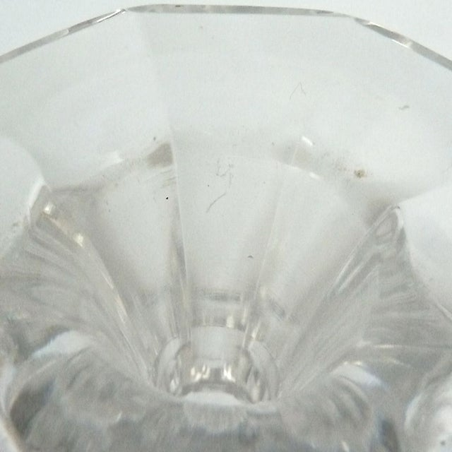 Image of Vintage Val St. Lambert Crystal Decanter