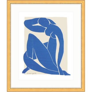 Henri Matisse Blue Nude II Gold Framed Reproduction Print
