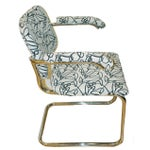 Image of Marcel Breuer Style Mid Century Chrome Chairs - 2