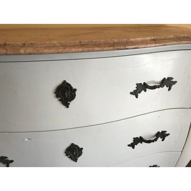Marble Top French Country Chest - Image 7 of 10