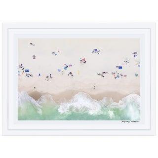 "Gray Malin Large ""Surfside Beach, Nantucket"" (À la Plage) Framed Limited Edition Signed Print"