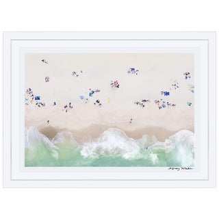 "Gray Malin Large ""Surfside Beach, Nantucket"" (À la Plage) Framed Limited Edition Signed Print"