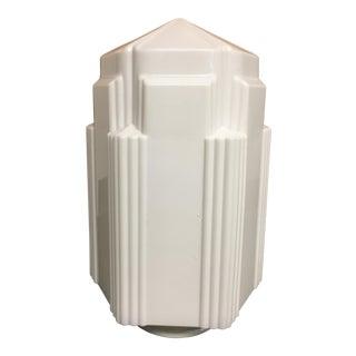 Art Deco Glass Light Fixture