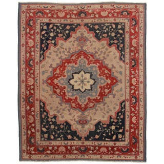 Hand Knotted Turkish Rug - 7′10″ × 9′9″