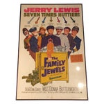 Image of The Family Jewels Framed Movie Poster