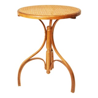 Mid-Century Modern Bentwood Plant Stand