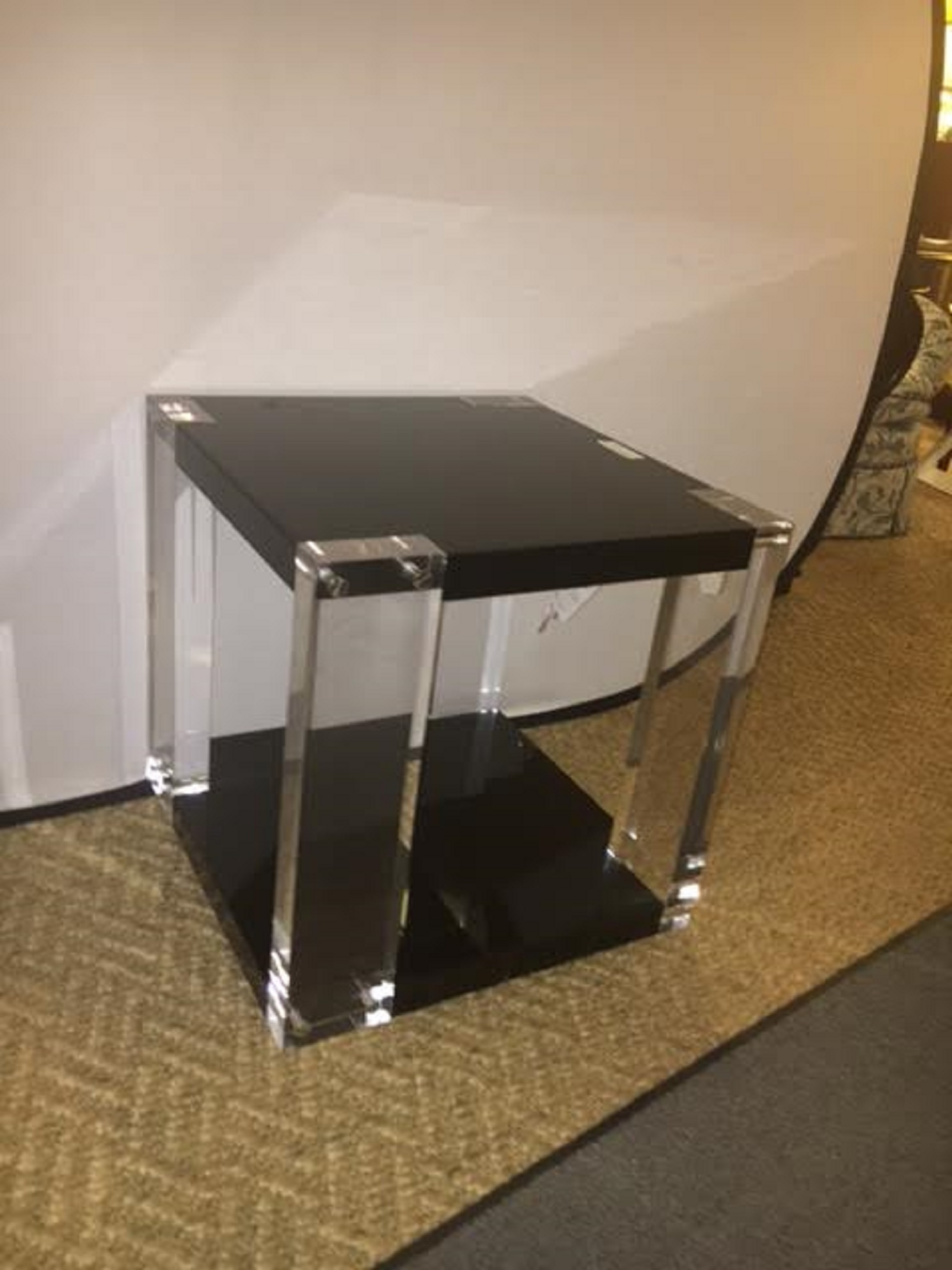 Ralph Lauren Brook Street Acrylic End Table   Image 3 Of 5