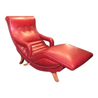 Red Contour Reclining Chair