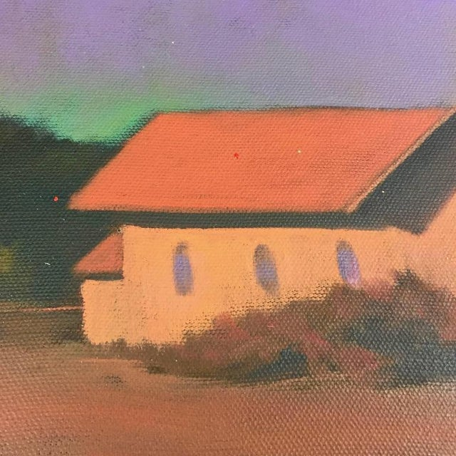 """Chapel on the Pond, North Truro"" Painting - Image 7 of 7"