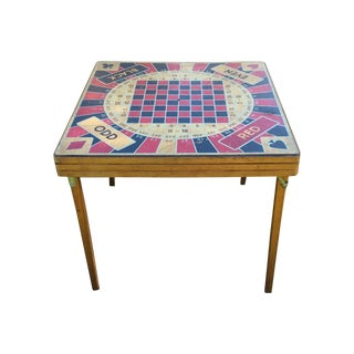Vintage Five in One Game Table