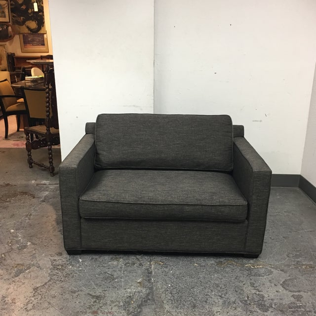 Crate Amp Barrel Davis Twin Sleeper Sofa Chairish