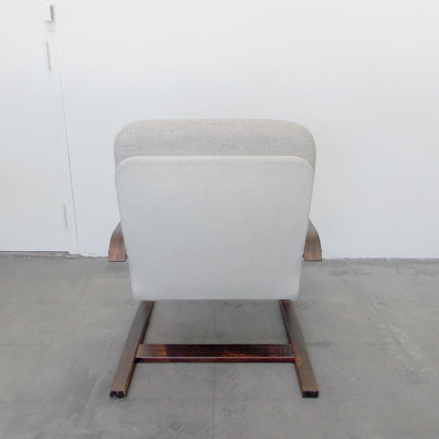 Bentwood Lounge Chair - Image 5 of 8
