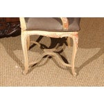 Image of Louis XV Style Painted Bergere Chair