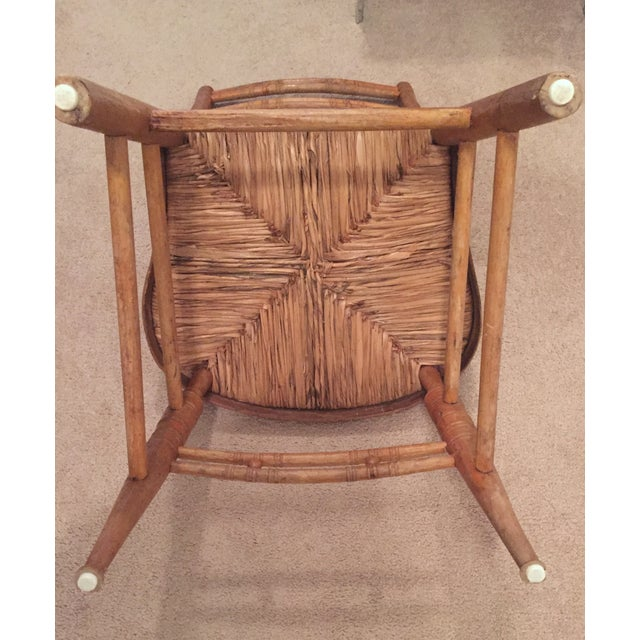 French Country Ladderback Chair - Image 5 of 7
