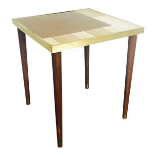 Mid Century Mosaic Side Table