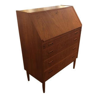 Mid-Century Danish Secretary Desk