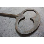 Image of Monumental Mid-20th Century Folk Art Wooden 'Key' Trade Sign