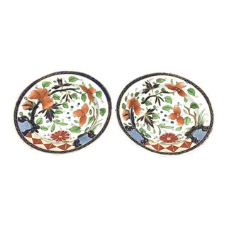 Hand-Painted, Antique Imari Plates