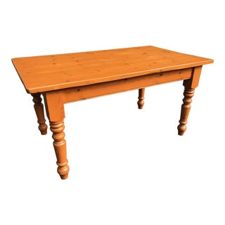 Antique Farm Harvest Table