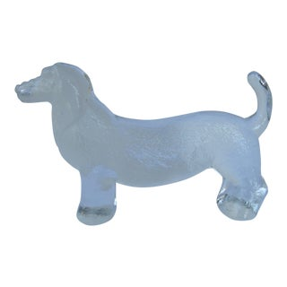 Dachshund Figurine/Paper Weight