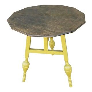 Antique Tilt Gate Leg Side Table