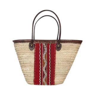 Berber Woven Market Basket