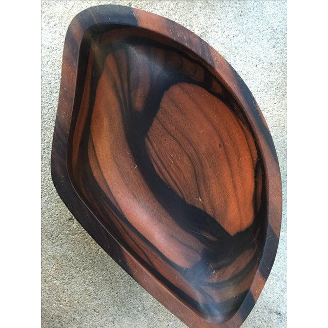 9-Piece Rosewood Salad Bowl Set - Image 7 of 11