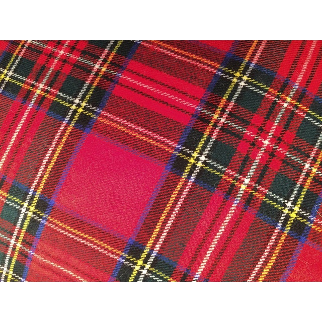 Blanket Pillows, Red and Green Plaid - Pair - Image 6 of 6
