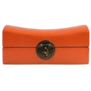 Chinese Orange Pillow Box