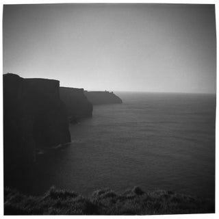 """""""Cliffs of Moher"""" Black & White Photograph"""