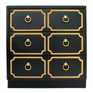 Vintage Regency 3 Drawer Chest
