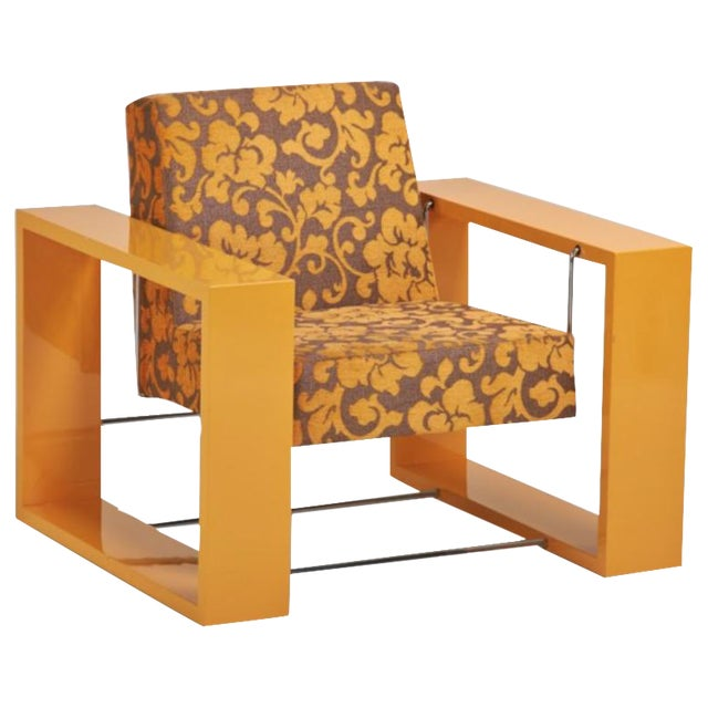 Paco Capdell Cuna Rocking Lounge Chair - Image 1 of 6
