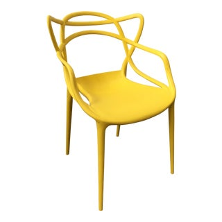 Bright Yellow Mid-Century Masters Chair