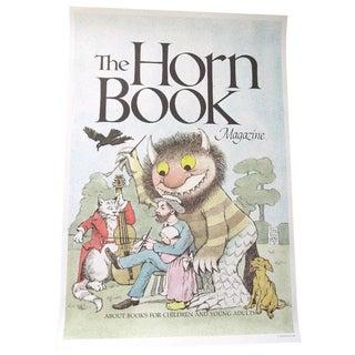 Maurice Sendak Horn Book Magazine Poster