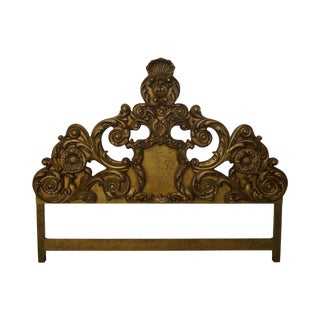 Vintage Carved Rococo King Size Headboard