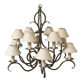 Dana Creath Designs Iron Chandelier